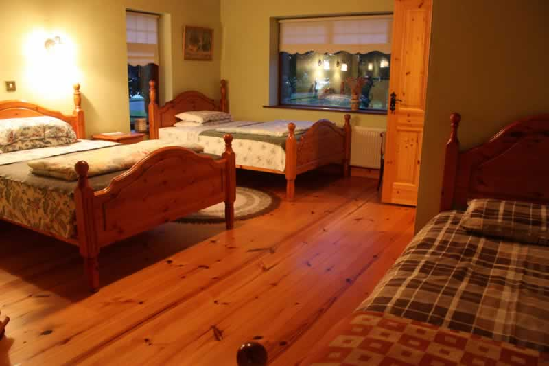 Family Bedroom at The Gables B&B in Leitrim